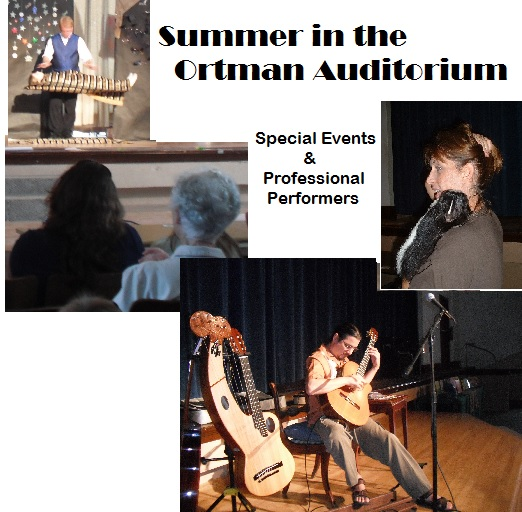 Summer performers at The Ortman